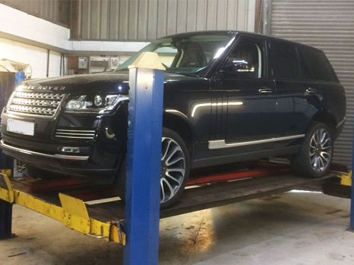 Land Rover, Range Rover Servicing, Sudbury, Suffolk, East Anglia
